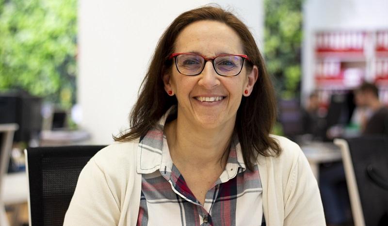 Alicia Jiménez, departamento de Pedagogía